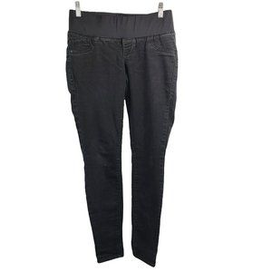"""ON Maternity """"The Rockstar"""" Low Panel Black Jeans"""